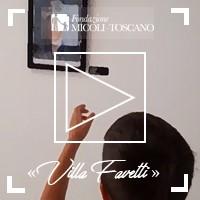 """""""Villa Favetti"""": la galleria d'arte della Scuola Favetti."""